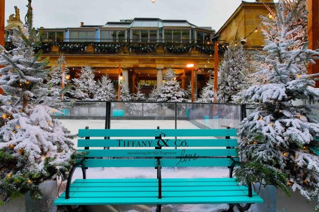 Tiffany ice rink