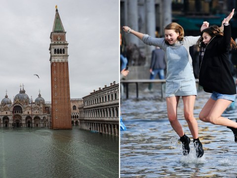 Venice's St. Mark's Square re-opens after worst flooding in decades