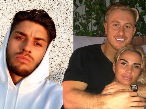 Katie Price apologises to boyfriend Kris Boyson as he accuses her of cheating