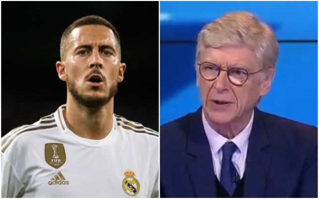 Arsene Wenger says Eden Hazard has struggled at Real Madrid due to 'physical problems'