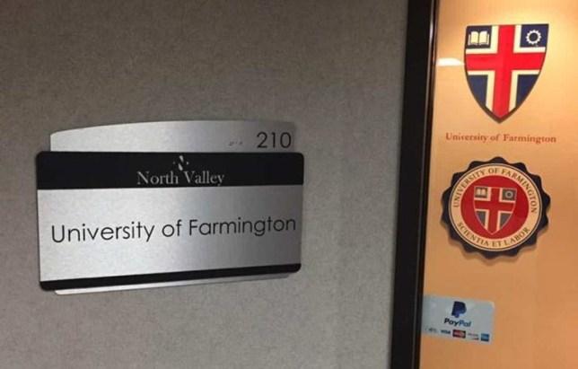 Farmington University ICE sting for featured