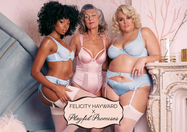The Felicity Hayward x Playful Promises collection