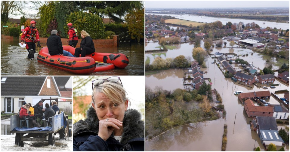 Boris calls emergency meeting to discuss flooding just as rain starts to ease