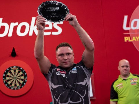 Gerwyn Price explains heated start to Players Championship final with Michael van Gerwen