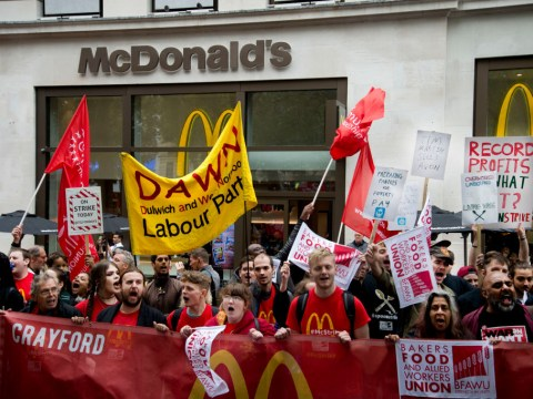 I'm joining the McDonald's strike to show my son we deserve better than poverty