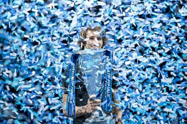 Alexander Zverev is the defending ATP Finals champion