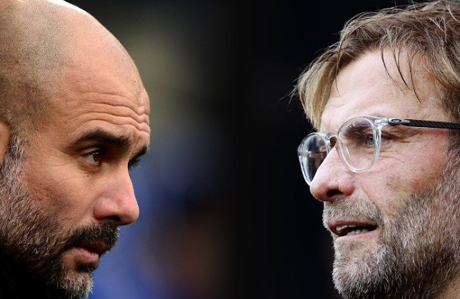 Liverpool and Manchester City are in a battle to win the Premier League title