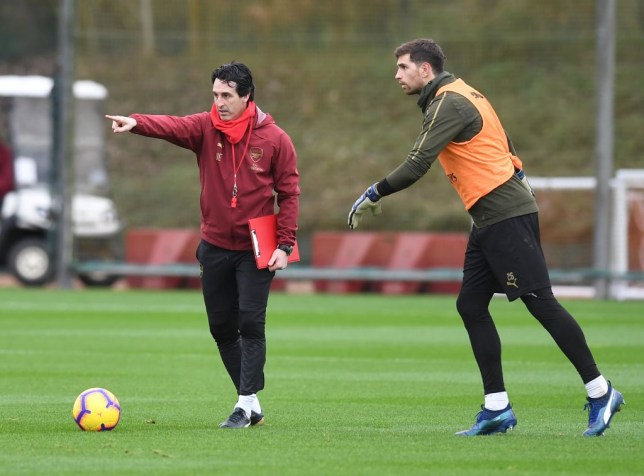 Arsenal star Emiliano Martínez 'likes' social media post calling for Unai Emery to be sacked