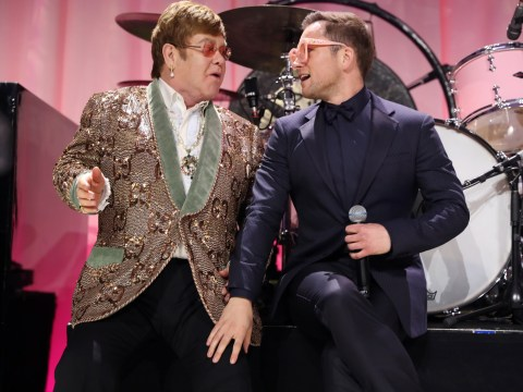 Taron Egerton says he 'fell in love' with Elton John while preparing to star in Rocketman biopic