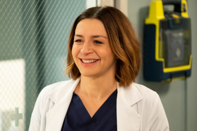 Grey's Anatomy star Caterina Scorsone