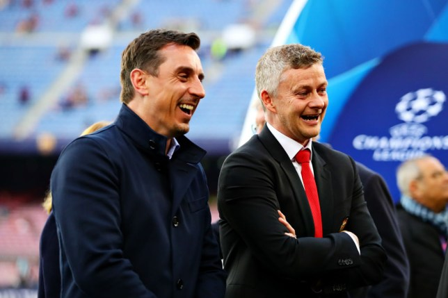 Gary Neville wants Ole Gunnar Solskjaer to add to his squad