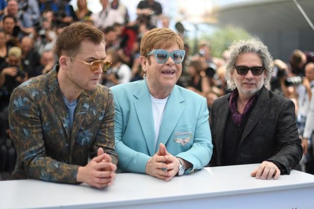Taron Egerton and Elton John at Cannes Film Festival 2019