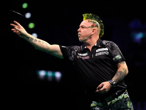 Peter Wright makes Grand Slam of Darts final promise after scrappy win over Glen Durrant