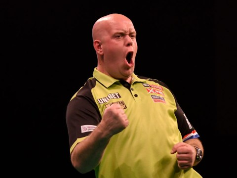 Michael van Gerwen dismisses Peter Wright's record average as it was away from the TV cameras