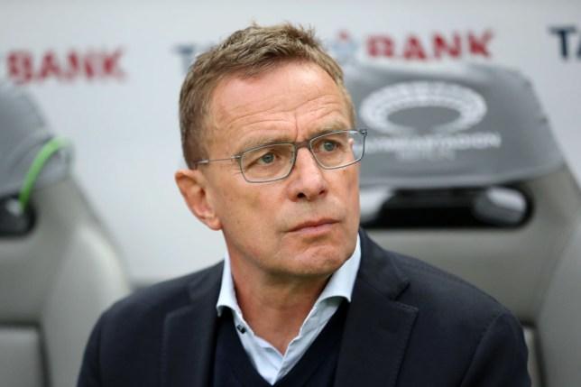 Red Bull chief Ralf Rangnick has spoken to Man Utd
