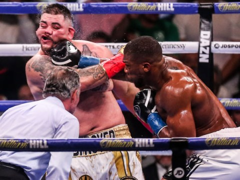Andy Ruiz Jr claims Anthony Joshua caught him with a 'lucky shot' for knockdown