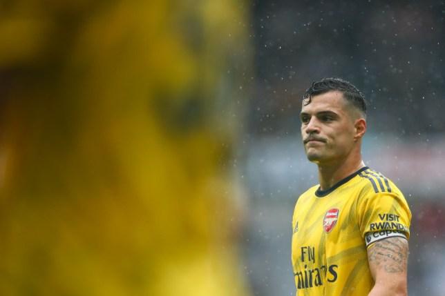 Arsenal midfielder Granit Xhaka to seek transfer