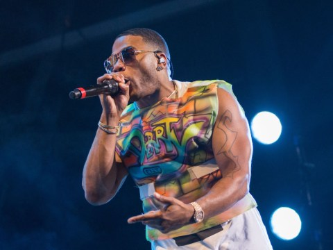Over eager fan pulls Nelly off stage during Palm Springs gig… but he takes it surprisingly well