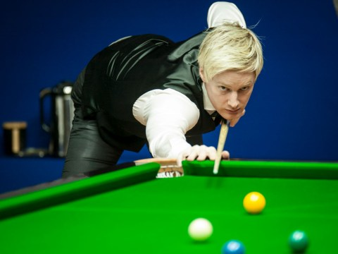 Neil Robertson reacts to thrilling win over Ronnie O'Sullivan at Champion of Champions