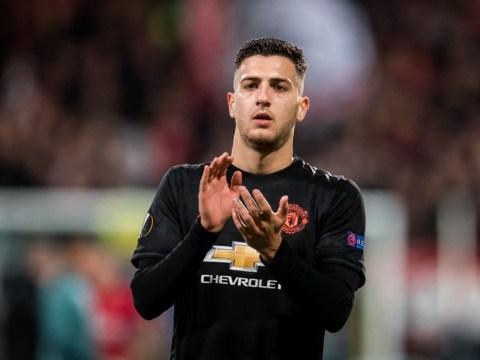 Solskjaer handed boost as Man Utd defender Diogo Dalot posts injury update on Instagram