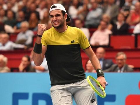 Matteo Berrettini books last ATP Finals spot in London after Denis Shapovalov thrashes Gael Monfils