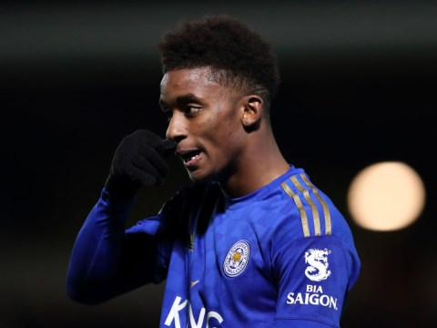 Demarai Gray says Arsenal 'were playing backwards' against Leicester City