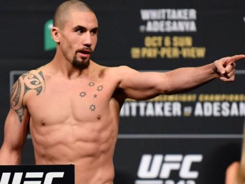 Robert Whittaker accepts Darren Till's call-out for UFC London