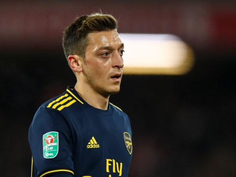 Ray Parlour tells Unai Emery to sell Arsenal outcast Mesut Ozil in January