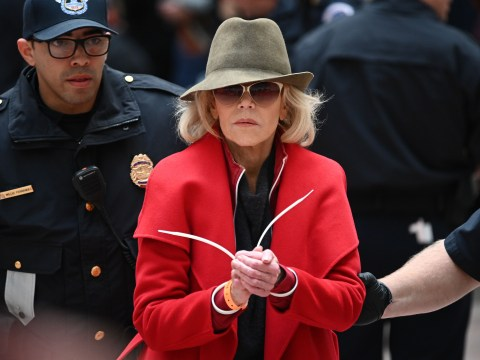 Jane Fonda exposes 'sad' prison conditions after being arrested at protest