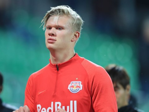 Red Bull Salzburg slap £86m price tag on Manchester United target Erling Haaland