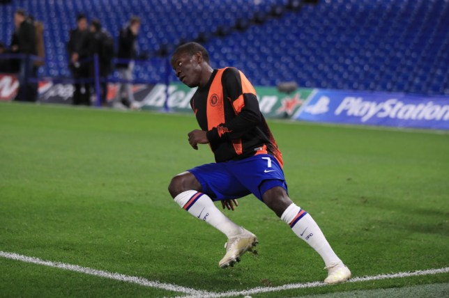 N'Golo Kante was an unused substitute during Chelsea's 4-4 Champions League draw against Ajax