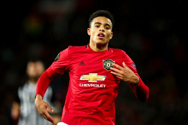 Mason Greenwood scored Manchester United's opening goal in last night's win over Partizan Belgrade