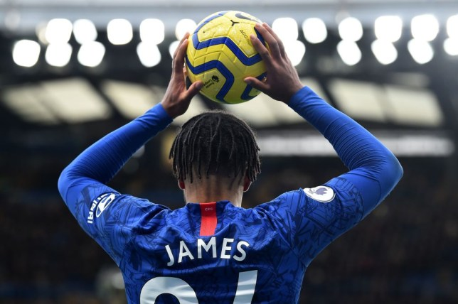 Reece James impressed on his full Premier League debut against Crystal Palace