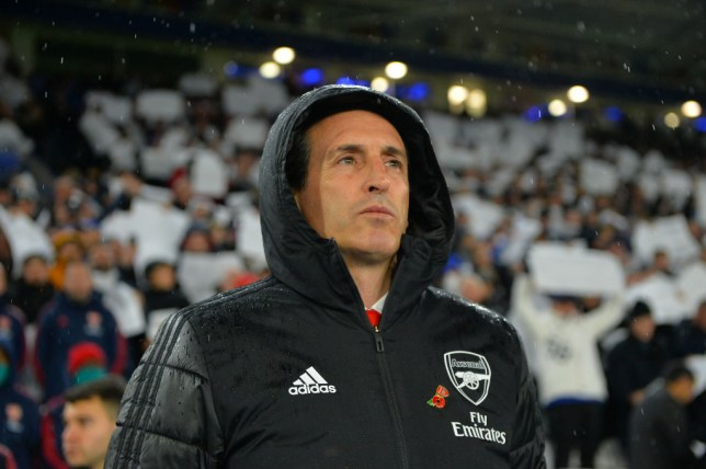 Arsenal are searching for a replacement for sacked manager Unai Emery