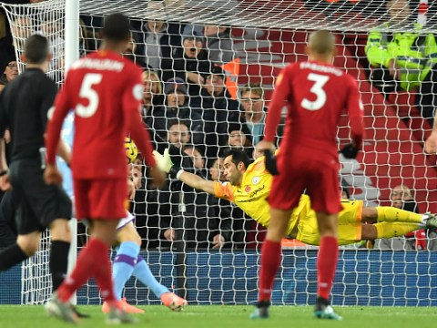 Gary Neville slams Man City goalkeeper Claudio Bravo over Fabinho's stunning goal for Liverpool