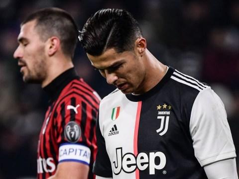 Maurizio Sarri explains Cristiano Ronaldo substitution as Juventus star storms out of stadium early