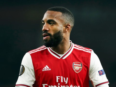 Alexandre Lacazette shuts down suggestions Unai Emery has lost the Arsenal dressing room
