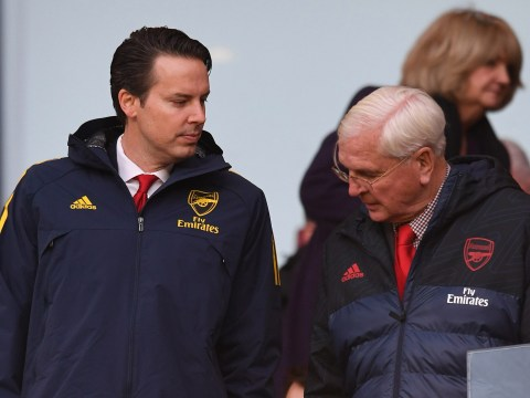 Arsenal chairman Sir Chips Keswick considering resigning over Unai Emery situation
