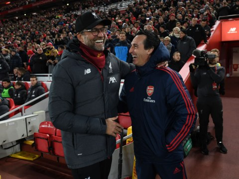 Jurgen Klopp reacts to Arsenal's decision to sack Unai Emery and appoint Freddie Ljungberg