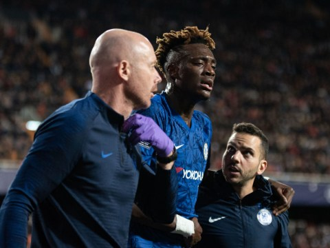 Tammy Abraham delivers update on his injury after Chelsea's draw with Valencia