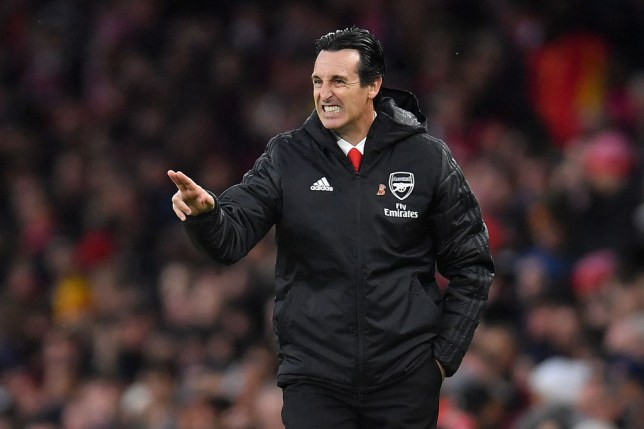 Unai Emery is under mounting pressure following Arsenal's poor start to the season