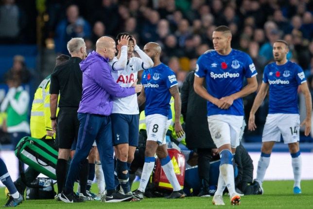 Seamus Coleman's class gesture to Heung-min Son after Andre Gomes horror injury