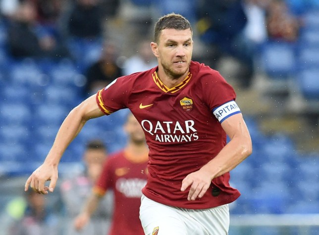 Manchester United are considering making a January move for Edin Dzeko