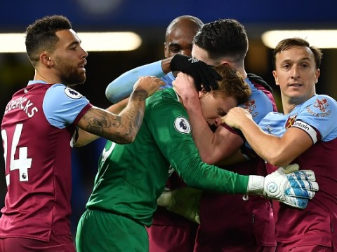 David Martin breaks down in tears after West Ham's Premier League victory over Chelsea