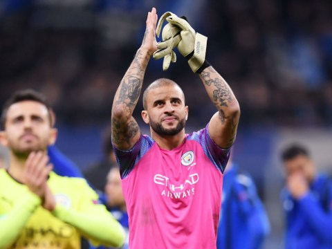 Kyle Walker and Pep Guardiola explain why defender was chosen amid Man City goalkeeper crisis