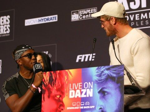 KSI doesn't actually want to kill Logan Paul at the boxing rematch so everyone can calm down