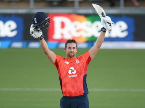 Dawid Malan reacts to setting England record in crushing T20 win over New Zealand