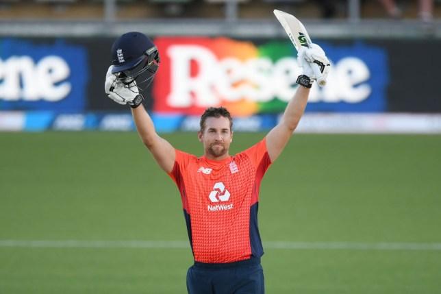 Dawid Malan scored a record breaking unbeaten 103 from just 51 balls in England's crushing 76-run win over New Zealand