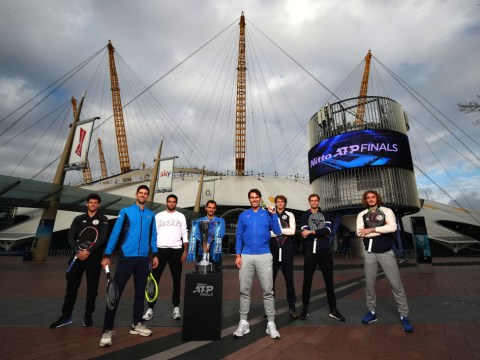 Roger Federer, Rafael Nadal and Novak Djokovic embrace young ATP Finals stars of tomorrow