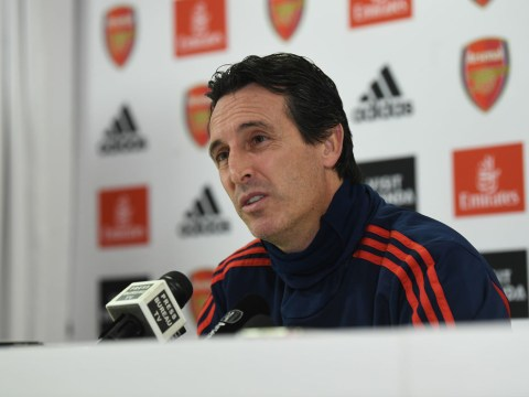Unai Emery reveals how Arsenal's board have reacted to his side's woeful form